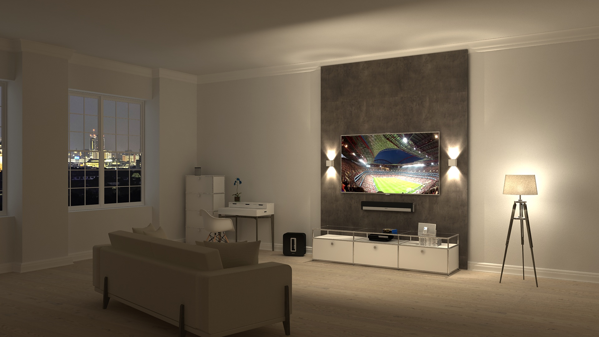 mewall tv und mediaw nde aus m nchen germering. Black Bedroom Furniture Sets. Home Design Ideas